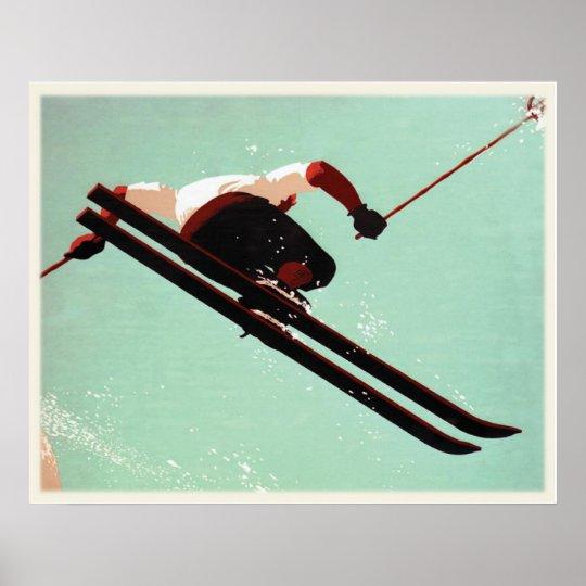 Cool Ski Bum Poster