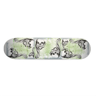 Cool Skull and Graphics You Can Customize Skate Board Decks