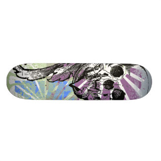 Cool Skull and Graphics You Can Customize Skate Decks