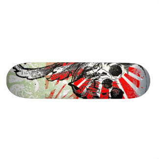 Cool Skull and Graphics You Can Customize 20 Cm Skateboard Deck