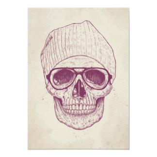 Cool skull card