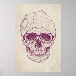 Cool skull poster