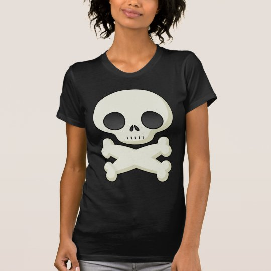 Cool skull, shirt for women or girls