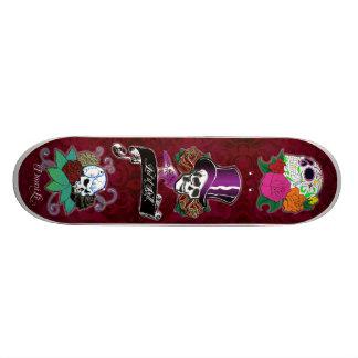 Cool Skull Trio Skateboards
