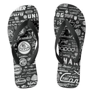 Cool sleepers flip flops