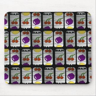 Cool Slot Machine Pattern Mouse Pad