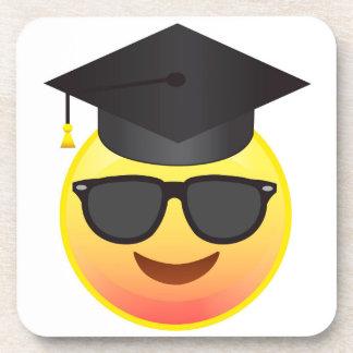 Cool Smile Graduate Emoji Coasters Class of 2016