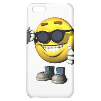 cool smiley face iPhone 5C covers