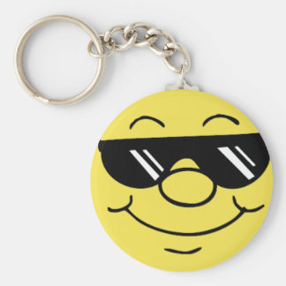 cool smiley keychain