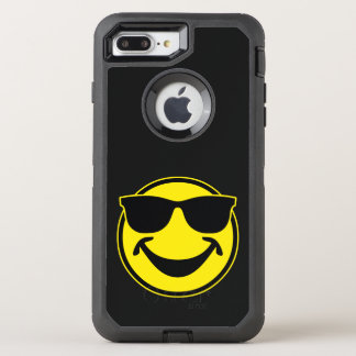 Cool Smiley yellow + your backg. & ideas OtterBox Defender iPhone 8 Plus/7 Plus Case