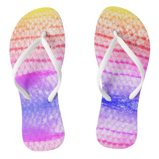 Cool Snakeskin Look 4Amy Flip Flops