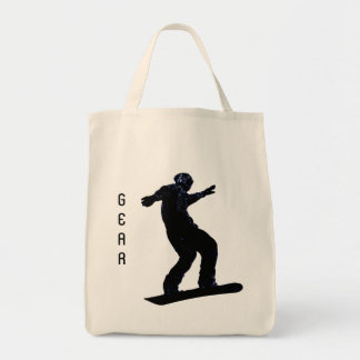 Cool SNOW BOARDER Collection Canvas Bags