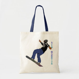 Cool SNOW BOARDER Collection Budget Tote Bag