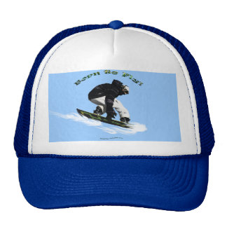 Cool Snow Boarder Winter Sports Theme Cap