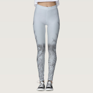 Cool Snow Forest Leggings
