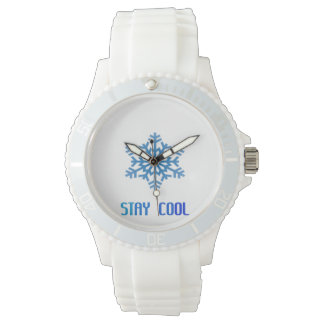 COOL SNOWFLAKE WRISTWATCHES