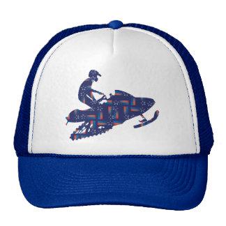 Cool Snowmobiler Cap