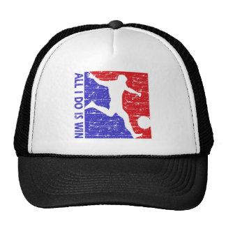Cool soccer  designs mesh hats