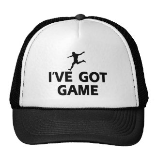 cool soccer designs mesh hat