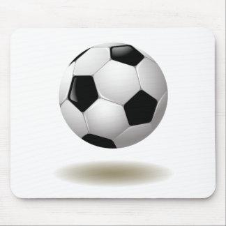 Cool Soccer Emblem Mouse Pad