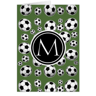 Cool Soccer - Tree Top Note Card