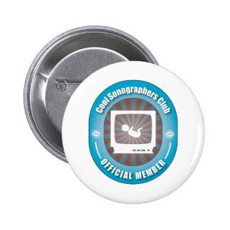 Cool Sonographers Club 6 Cm Round Badge