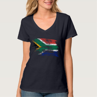 Cool South African flag design Tshirts