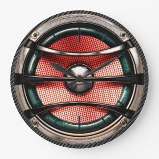 Cool Speaker 5 Options Wall Clocks