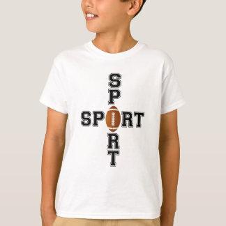 Cool Sport Football Cross Tee Shirt