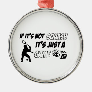 Cool sports designs Silver-Colored round decoration
