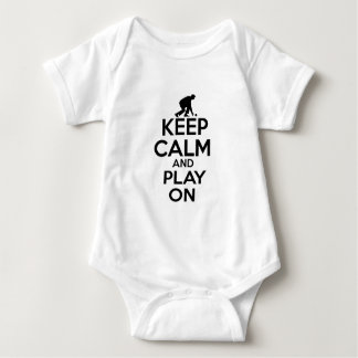 Cool sports vector designs baby bodysuit