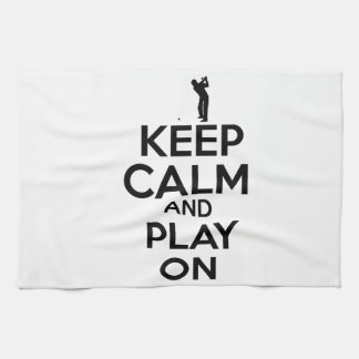Cool sports vector designs tea towel