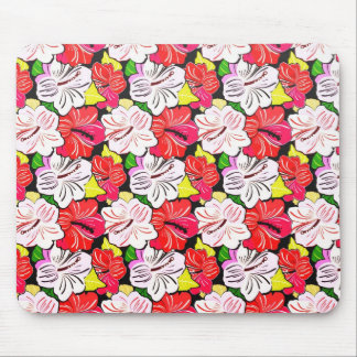 Cool   spring red pink white  flowers mousepad