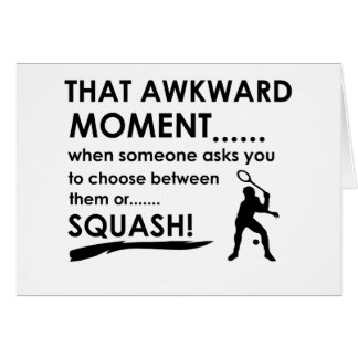 Cool Squash designs Greeting Card