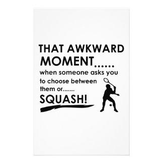 Cool Squash designs Stationery