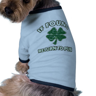 Cool St Patrick s day designs Doggie T-shirt