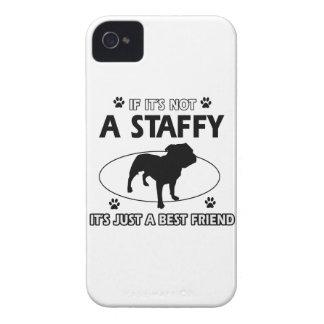 Cool staffy designs apple iphone4 case