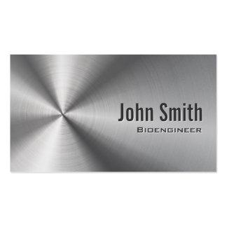 Cool Stainless Steel Bioengineer Business Card