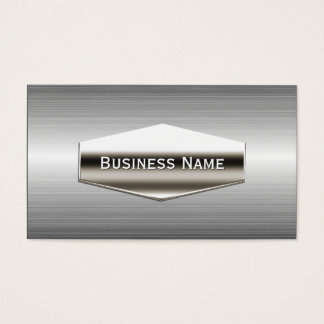Cool Stainless Steel Metallic Business Card
