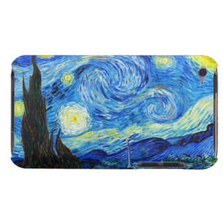 Cool Starry Night Vincent Van Gogh painting Barely There iPod Case