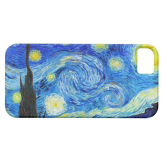 Cool Starry Night Vincent Van Gogh painting iPhone 5 Cover