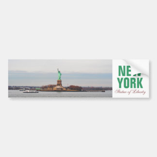 Cool Statue of Liberty - NY New York Bumper Sticker