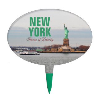 Cool Statue of Liberty - NY New York Cake Toppers