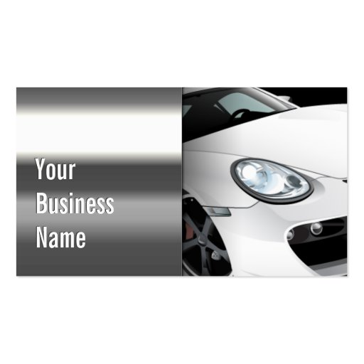 Cool steel mobile auto detailing business card zazzle for Mobile auto detailing business cards