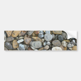 cool stone pattern bumper stickers