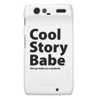 Cool Story Babe Motorola Droid RAZR Covers