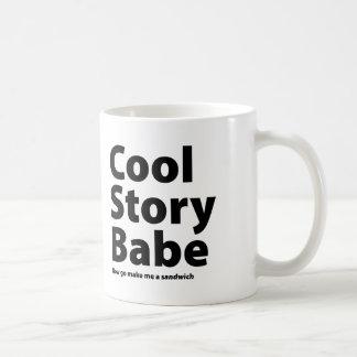 Cool Story Babe Mugs
