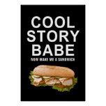 cool story babe posters