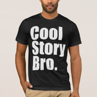 Cool Story Bro. AA Dark T-Shirt