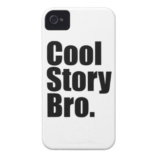 Cool Story Bro. Barely There™ iPhone 4 Cas iPhone 4 Case